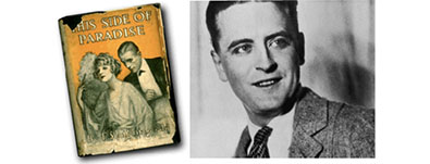 1920 F. Scott Fitzgerald's first novel, <i> This Side of Paradise</i>, published